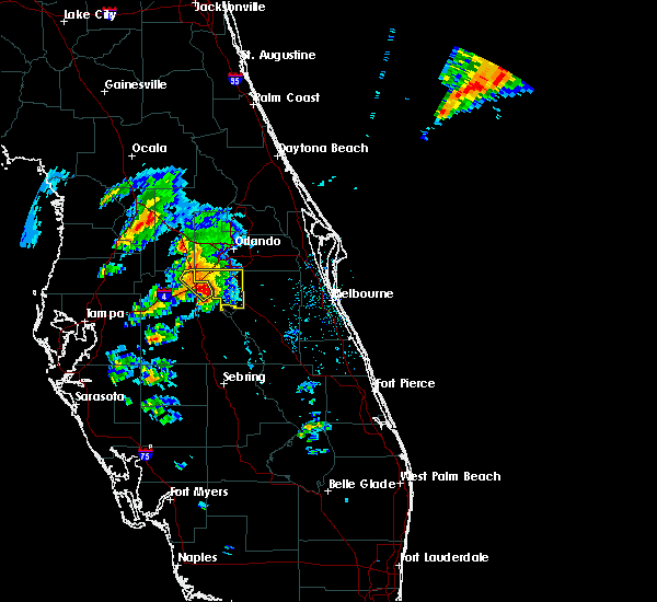 Radar Image for Severe Thunderstorms near Four Corners, FL at 3/26/2016 6:01 PM EDT