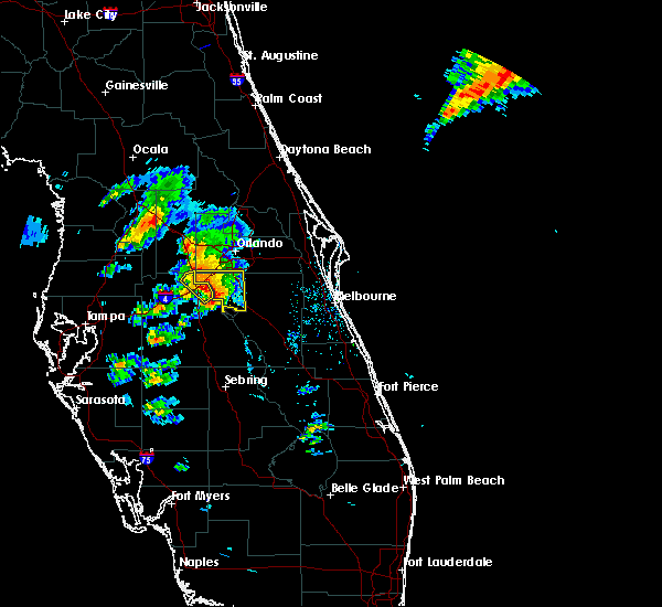 Radar Image for Severe Thunderstorms near Buenaventura Lakes, FL at 3/26/2016 6:10 PM EDT