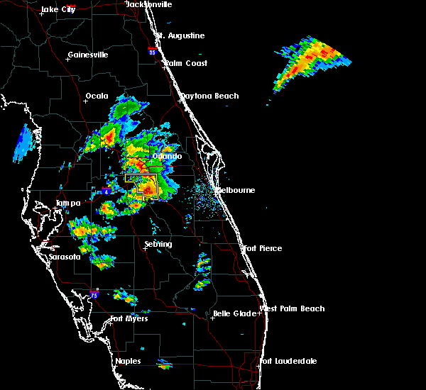 Radar Image for Severe Thunderstorms near Buenaventura Lakes, FL at 3/26/2016 6:34 PM EDT