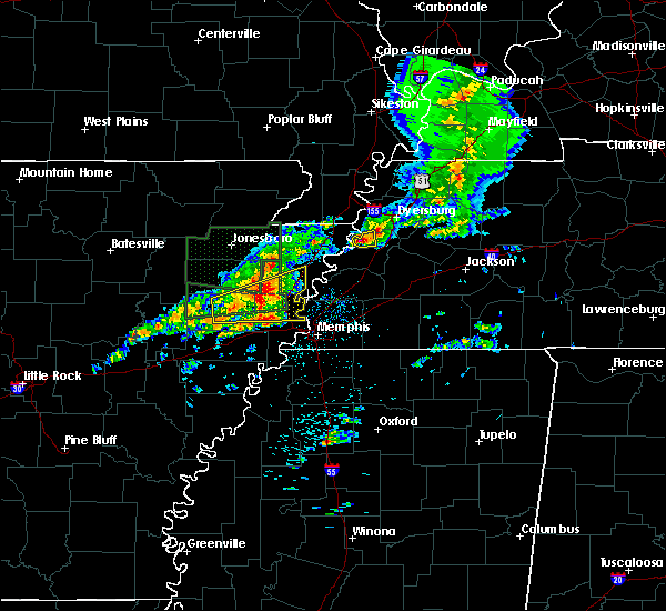 Radar Image for Severe Thunderstorms near Marie, AR at 3/31/2016 12:34 PM CDT