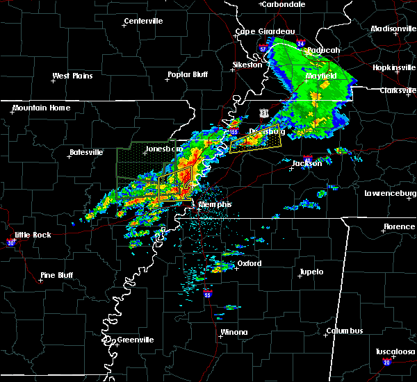 Radar Image for Severe Thunderstorms near Marie, AR at 3/31/2016 12:53 PM CDT
