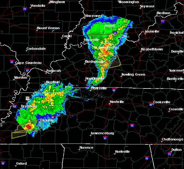 Radar Image for Severe Thunderstorms near Rochester, KY at 3/31/2016 2:21 PM CDT