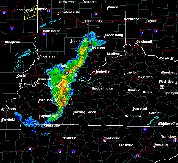 Radar Image for Severe Thunderstorms near Ekron, KY at 3/31/2016 2:27 PM CDT