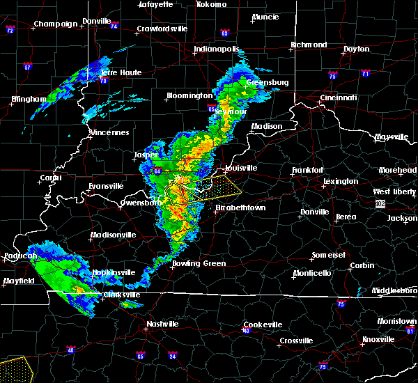 Radar Image for Severe Thunderstorms near Ekron, KY at 3/31/2016 4:00 PM EDT
