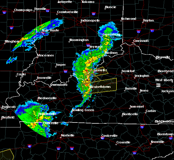 Radar Image for Severe Thunderstorms near Cecilia, KY at 3/31/2016 4:19 PM EDT