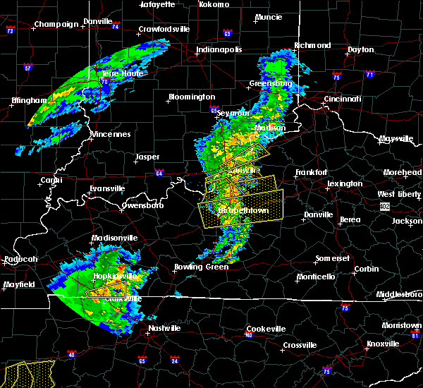 Radar Image for Severe Thunderstorms near Mackville, KY at 3/31/2016 4:34 PM EDT