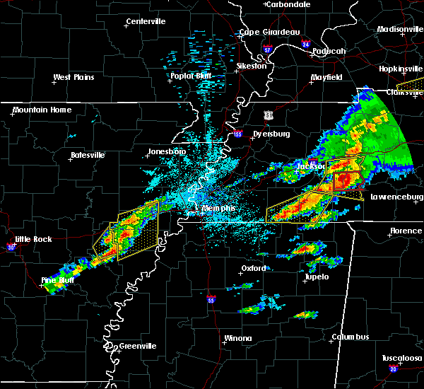 Radar Image for Severe Thunderstorms near Wheatley, AR at 3/31/2016 3:45 PM CDT