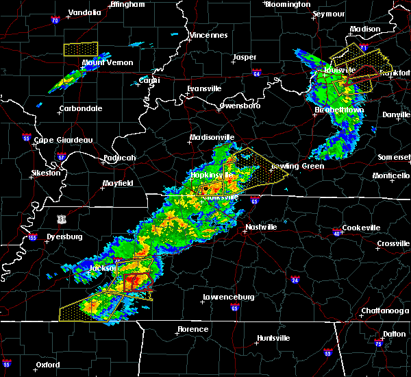 Radar Image for Severe Thunderstorms near Trenton, KY at 3/31/2016 3:52 PM CDT