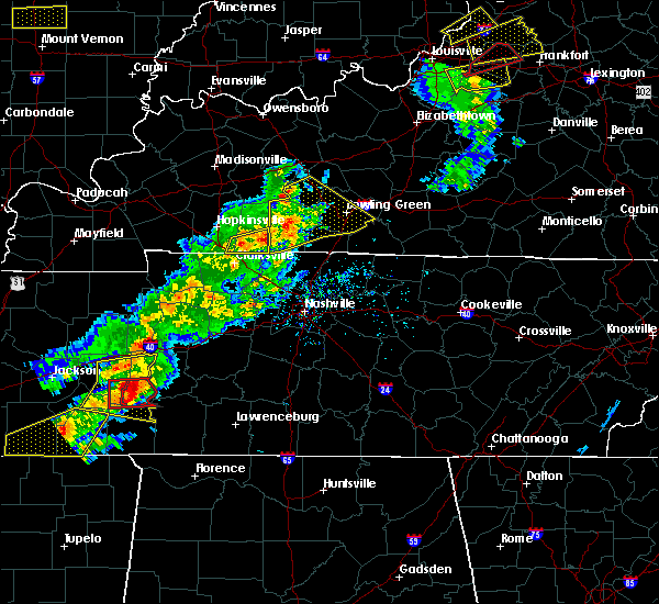 Radar Image for Severe Thunderstorms near Lobelville, TN at 3/31/2016 3:52 PM CDT