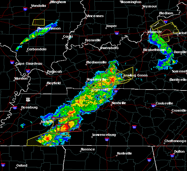 Radar Image for Severe Thunderstorms near Oakland, KY at 3/31/2016 3:58 PM CDT