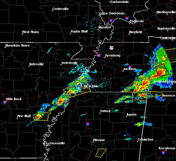 Radar Image for Severe Thunderstorms near West Memphis, AR at 3/31/2016 4:33 PM CDT