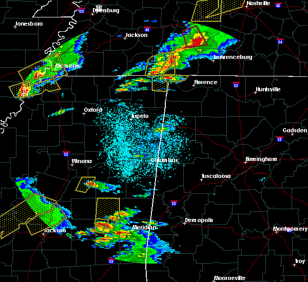 Radar Image for Severe Thunderstorms near Waterloo, AL at 3/31/2016 4:46 PM CDT