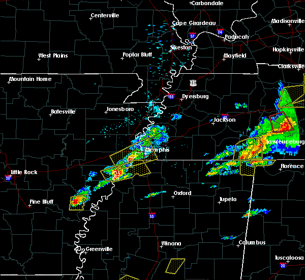 Radar Image for Severe Thunderstorms near West Memphis, AR at 3/31/2016 4:47 PM CDT