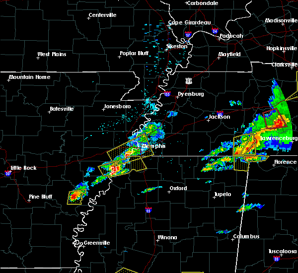 Radar Image for Severe Thunderstorms near Edmondson, AR at 3/31/2016 4:48 PM CDT