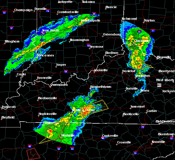 Radar Image for Severe Thunderstorms near Greensburg, KY at 3/31/2016 4:50 PM CDT