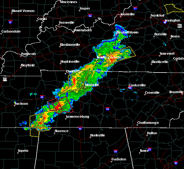 Radar Image for Severe Thunderstorms near Hohenwald, TN at 3/31/2016 4:51 PM CDT