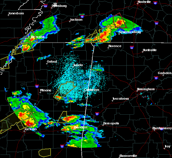 Radar Image for Severe Thunderstorms near Sturgis, MS at 3/31/2016 5:12 PM CDT