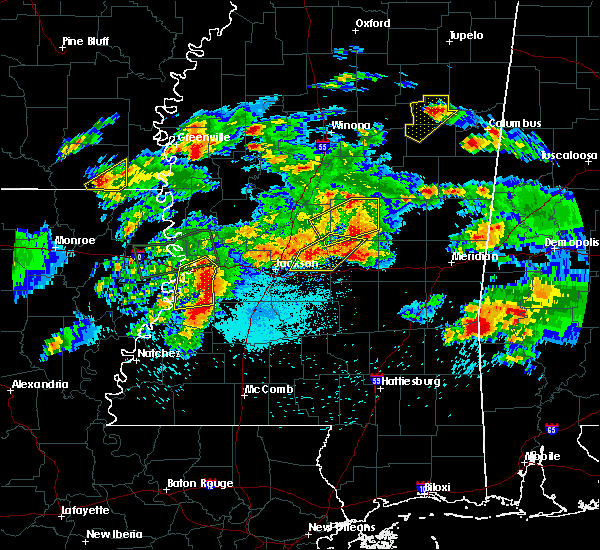 Radar Image for Severe Thunderstorms near Schlater, MS at 3/31/2016 5:53 PM CDT
