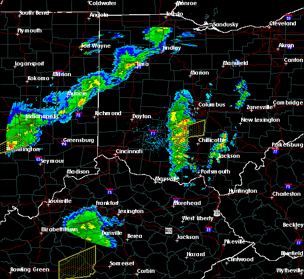 Radar Image for Severe Thunderstorms near New Holland, OH at 3/31/2016 6:53 PM EDT