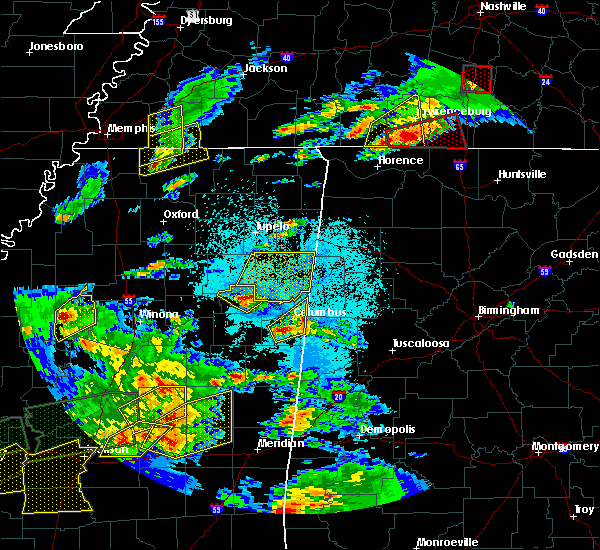 Radar Image for Severe Thunderstorms near Nettleton, MS at 3/31/2016 5:56 PM CDT