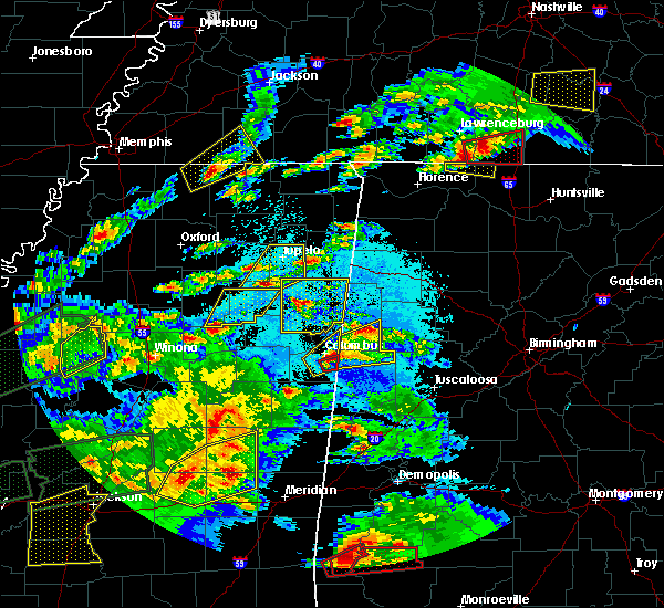 Radar Image for Severe Thunderstorms near Millport, AL at 3/31/2016 6:25 PM CDT