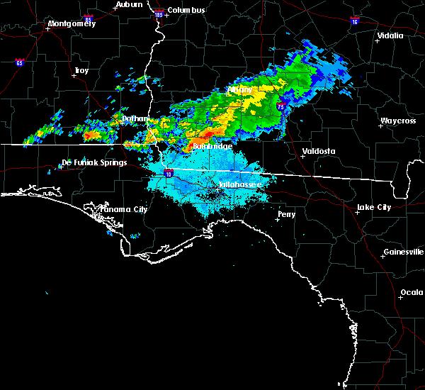 Radar Image for Severe Thunderstorms near Pelham, GA at 3/31/2016 7:29 PM EDT