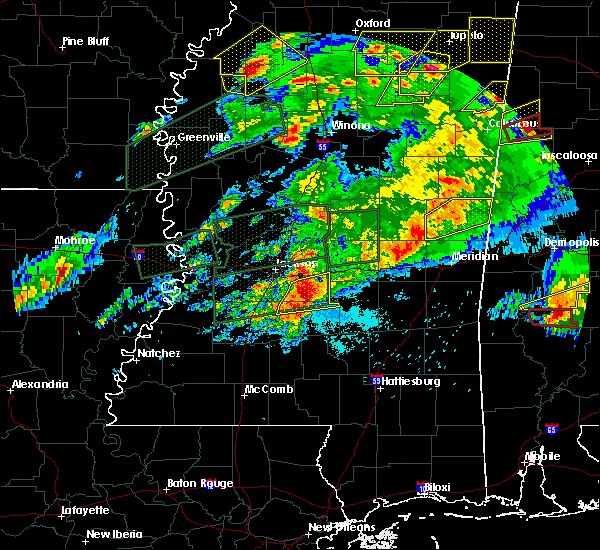 Radar Image for Severe Thunderstorms near Brandon, MS at 3/31/2016 6:58 PM CDT