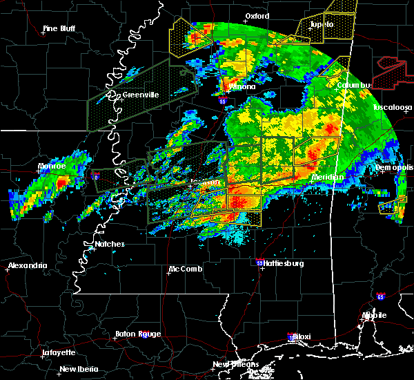Radar Image for Severe Thunderstorms near Brandon, MS at 3/31/2016 7:24 PM CDT