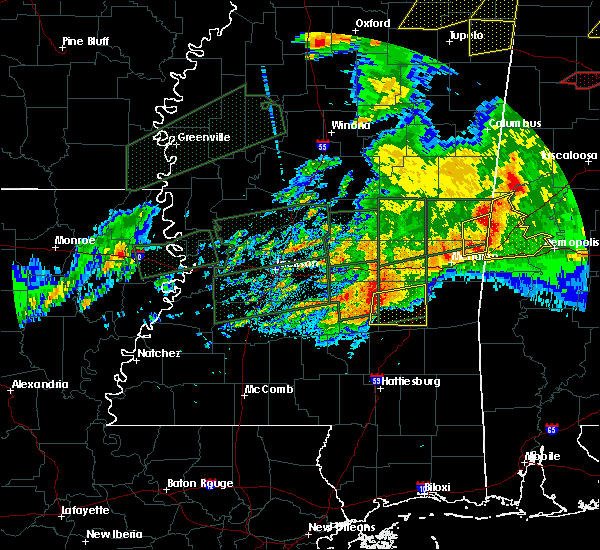 Radar Image for Severe Thunderstorms near Heidelberg, MS at 3/31/2016 7:47 PM CDT