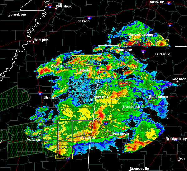 Radar Image for Severe Thunderstorms near Eldridge, AL at 3/31/2016 7:55 PM CDT