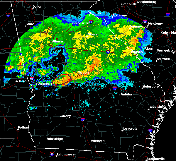 Radar Image for Severe Thunderstorms near Butler, GA at 4/1/2016 3:15 AM EDT