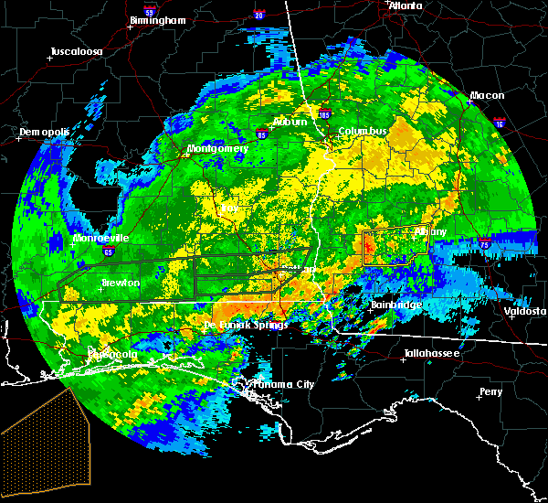 Radar Image for Severe Thunderstorms near Leary, GA at 4/1/2016 2:04 PM EDT