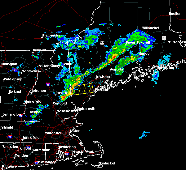 Radar Image for Severe Thunderstorms near Standish, ME at 4/1/2016 4:04 PM EDT