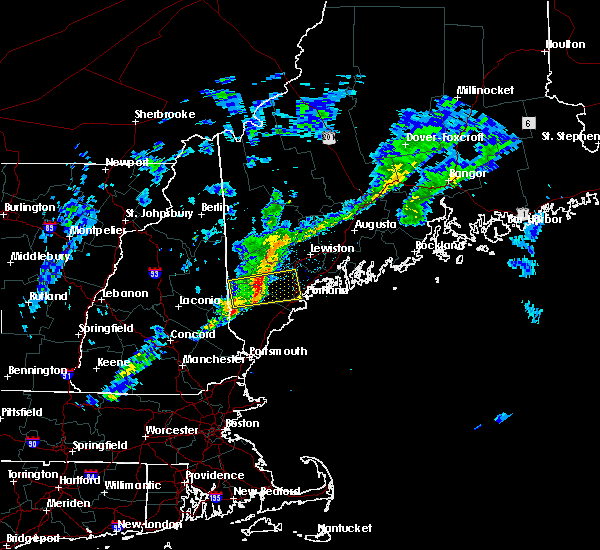 Radar Image for Severe Thunderstorms near Standish, ME at 4/1/2016 4:20 PM EDT