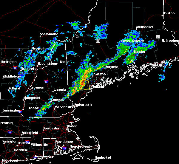 Radar Image for Severe Thunderstorms near Standish, ME at 4/1/2016 4:28 PM EDT