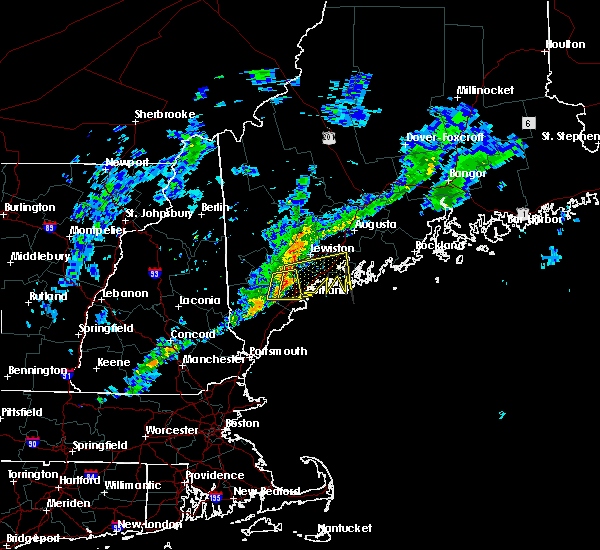 Radar Image for Severe Thunderstorms near Bath, ME at 4/1/2016 4:34 PM EDT