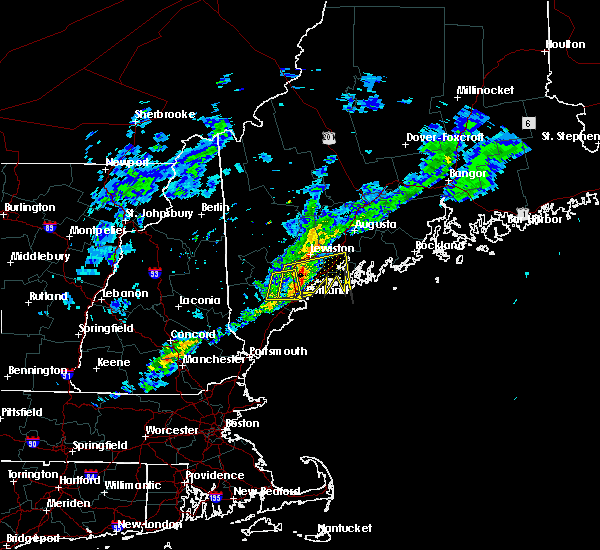 Radar Image for Severe Thunderstorms near Standish, ME at 4/1/2016 4:41 PM EDT