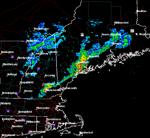 Radar Image for Severe Thunderstorms near Richmond, ME at 4/1/2016 4:53 PM EDT