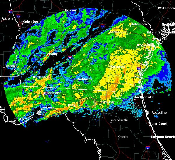 Radar Image for Severe Thunderstorms near Live Oak, FL at 4/2/2016 2:26 AM EDT