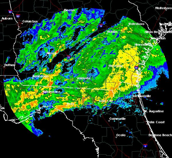 Radar Image for Severe Thunderstorms near Live Oak, FL at 4/2/2016 2:47 AM EDT