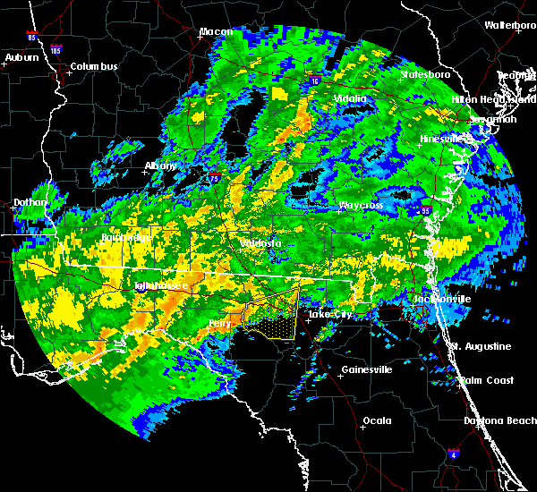 Radar Image for Severe Thunderstorms near Live Oak, FL at 4/2/2016 3:29 AM EDT