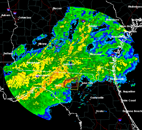 Radar Image for Severe Thunderstorms near Live Oak, FL at 4/2/2016 3:45 AM EDT