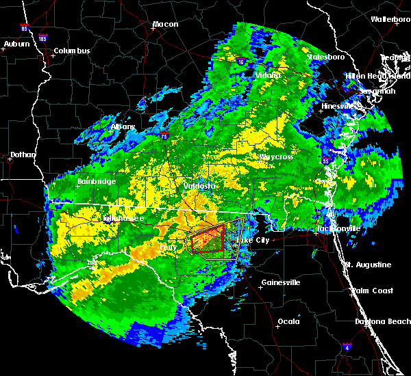 Radar Image for Severe Thunderstorms near Live Oak, FL at 4/2/2016 4:14 AM EDT