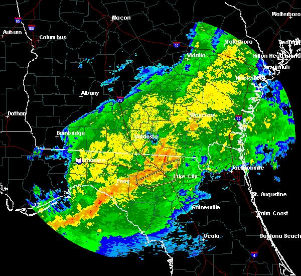 Radar Image for Severe Thunderstorms near Live Oak, FL at 4/2/2016 4:47 AM EDT