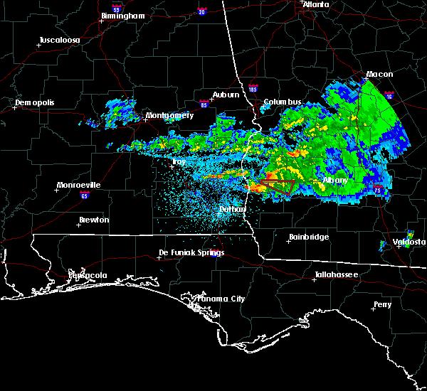 Radar Image for Severe Thunderstorms near Morgan, GA at 4/7/2016 2:46 AM EDT