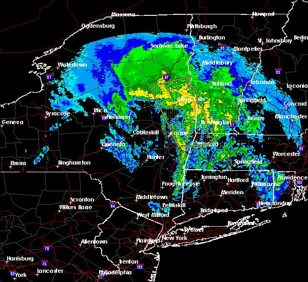 Radar Image for Severe Thunderstorms near Salem, NY at 4/7/2016 5:08 PM EDT