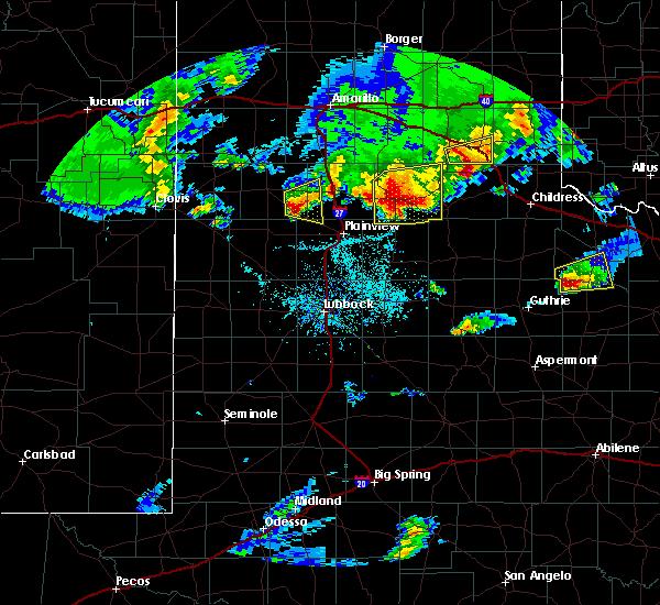 Radar Image for Severe Thunderstorms near Edmonson, TX at 4/10/2016 8:02 PM CDT