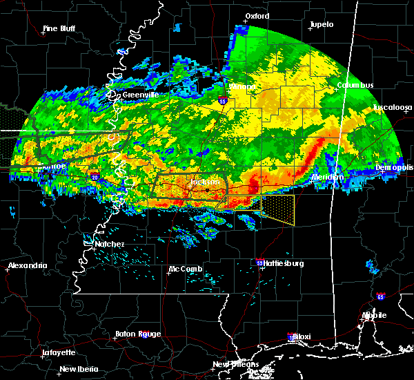 Radar Image for Severe Thunderstorms near Heidelberg, MS at 4/11/2016 6:20 PM CDT