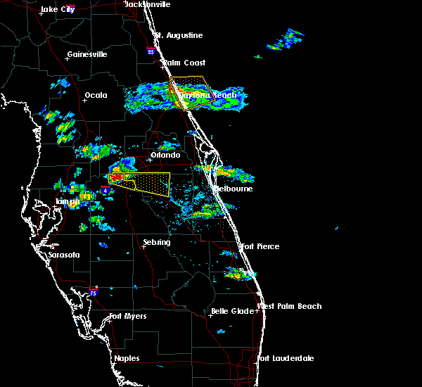 Radar Image for Severe Thunderstorms near Buenaventura Lakes, FL at 4/14/2016 6:09 PM EDT