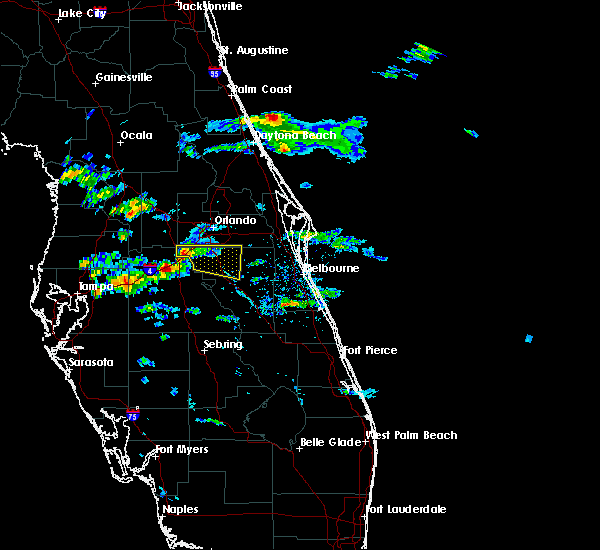 Radar Image for Severe Thunderstorms near Four Corners, FL at 4/14/2016 6:38 PM EDT